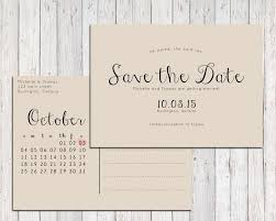 wedding postcard save the dates rustic save the date printable