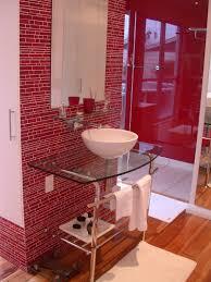 Bathrooms Design 20 Red Bathroom Design Ideas Designrulz