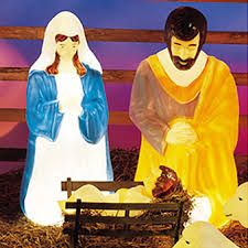 Outdoor Lighted Nativity Set - doomsday creches u2013 maya gurantz