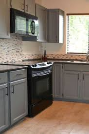 Gray Kitchen Ideas Black Appliances And White Or Gray Cabinets U2013 How To Make It Work