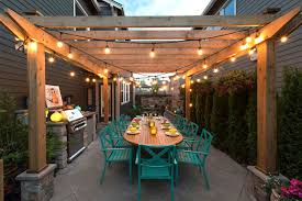String Patio Lights by Outdoor Lights For Pergola Sacharoff Decoration