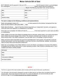 minnesota auto bill of sale form 8ws templates u0026 forms