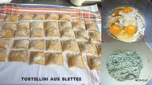 cuisiner le vert des blettes recette de tortellini au vert de blettes et persil