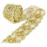 gold lace ribbon gold lace trim embellishments arts crafts sewing