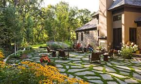 Beautiful Minimalist Backyard Landscaping Design Ideas On A - Simple backyard design ideas