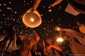 Festival Of Lights Thailand Thailand U0027s Flying Lantern Festival Causes Flight Delays