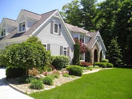 Colonial House Designs In Of House Amys Office Landscaping Landscaping Ideas For Front