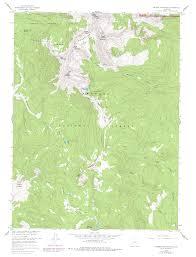 Rocky Mountain National Park Map Never Summer Wilderness