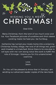 k m hodge letters in friendship christmas card special edition