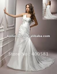 aliexpress com buy delicate sweetheart one shoulder chapel train
