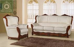 European Living Room Furniture High Quality Living Room Furniture European Antique Leather Sofa