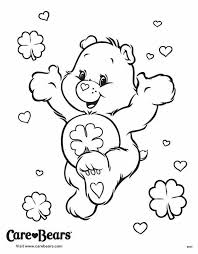 good luck bear coloring care bears good luck crafty