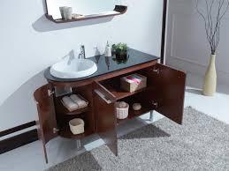 Single Bathroom Vanity With Sink Simple Decoration Contemporary Bathroom Vanities