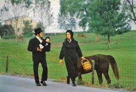 pennsylvania amish vintage postcard visit pa dutch country