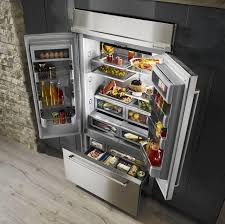 Kitchenaid Counter Depth French Door Refrigerator Stainless Steel - kitchen all refrigerator apartment refrigerator sub zero