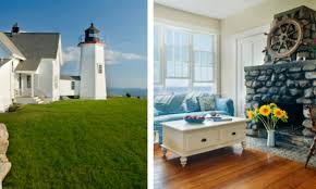 five new england lighthouses to rent