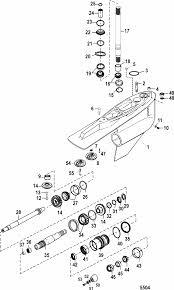 mercruiser bravo xr three gear housing bravo iii parts