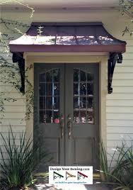 Exterior Door Awnings Awnings On Doors The Metal Juliet Awning Front Door