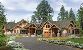 plan 23610jd high end mountain house plan with bunkroom