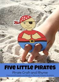 little pirates pirate craft and printable