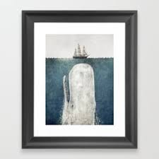 terry fan the whale art print terry fan s store society6