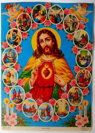 easter images of in 70s poster from india