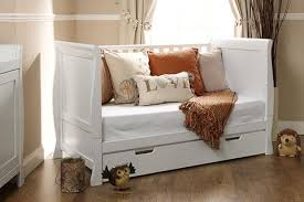 Sleigh Cot Bed Stamford Sleigh Cot Bed White County Pine Walnut