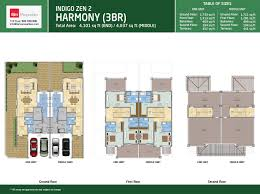 floor plans dubai golf city dubai real estate harmony townhouses 3 bed floor plan type 3 bedrooms townhouse middle and end unit
