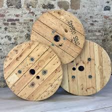 touret bois deco touret en bois clair 80 cm de diamètre