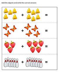 kindergarten math printable worksheets worksheets