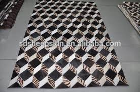 Hair On Hide Rug Nature Patchwork Cowhide Carpet Cow Hair On Leather Carpet Large