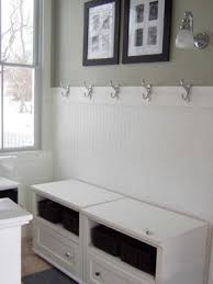 wonderful bathroom designs using beadboard and shower on same wall