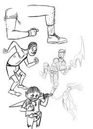 cartoon sketches palacio illustration