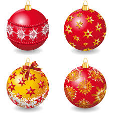 collection of vector christmas ornaments free all can download