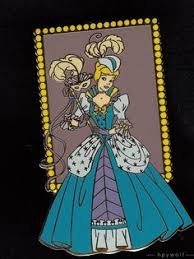 mardi gras pins set of 2 cameo silhouette princess mystery pins a princess