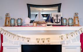 theme bridal shower nautical themed bridal shower an alli event