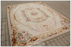 Cheap Area Rugs Free Shipping Free Ship 8x10 Pastel Colors Aubusson Area Rug Wool