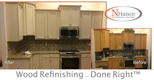 oak kitchen cabinet refacing nhance don t bother with any oahu oak cabinet refacing reviews