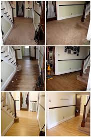 Diy Hardwood Floor Refinishing Before After Wood Floor Refinishing Diy Crafting Tutorials