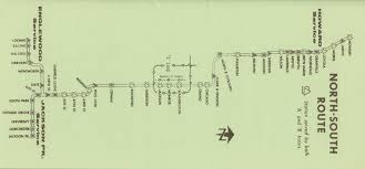 Public Transit Chicago Map by Transit Chicago History Today