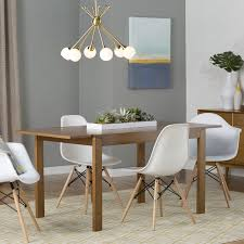 Modern Wood Dining Room Table Brook Modern Solid Wood Dining Chair Reviews Allmodern