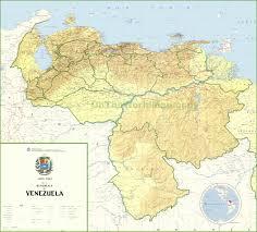 Venezuela Location On World Map by Venezuela Maps Maps Of Venezuela