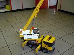 bruder scania crane scale trucks and models