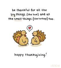 i m thankful for a lot of things including you chibird