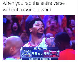 Rose Memes - d rose is back 20 memes of derrick rose s stone cold grill after
