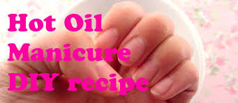 how to oil manicure for dry brittle nails and cuticles