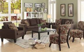 Brown Fabric Sofa Set Chair Monarch Specialties White Fabric Arm Chair I 8007 The Home