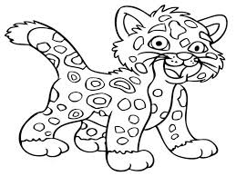 cute animal coloring pages for kids coloring pages kids