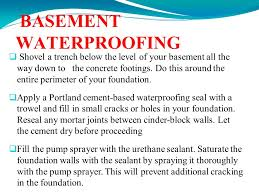 construction chemicals for waterproofing in concrete structures