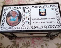 baptism jewelry box baptism jewelry box etsy